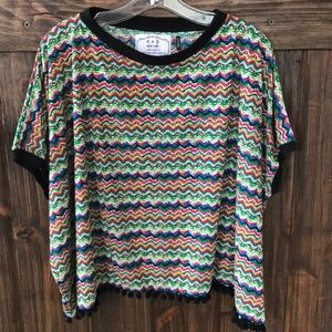 EUC KAS NewYork for Anthropologie striped knit top